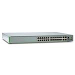 At-8100s-24poe-50\24 Port Managed Stackable Fast Ethernet Poe Switch\dual Ac Power Supply